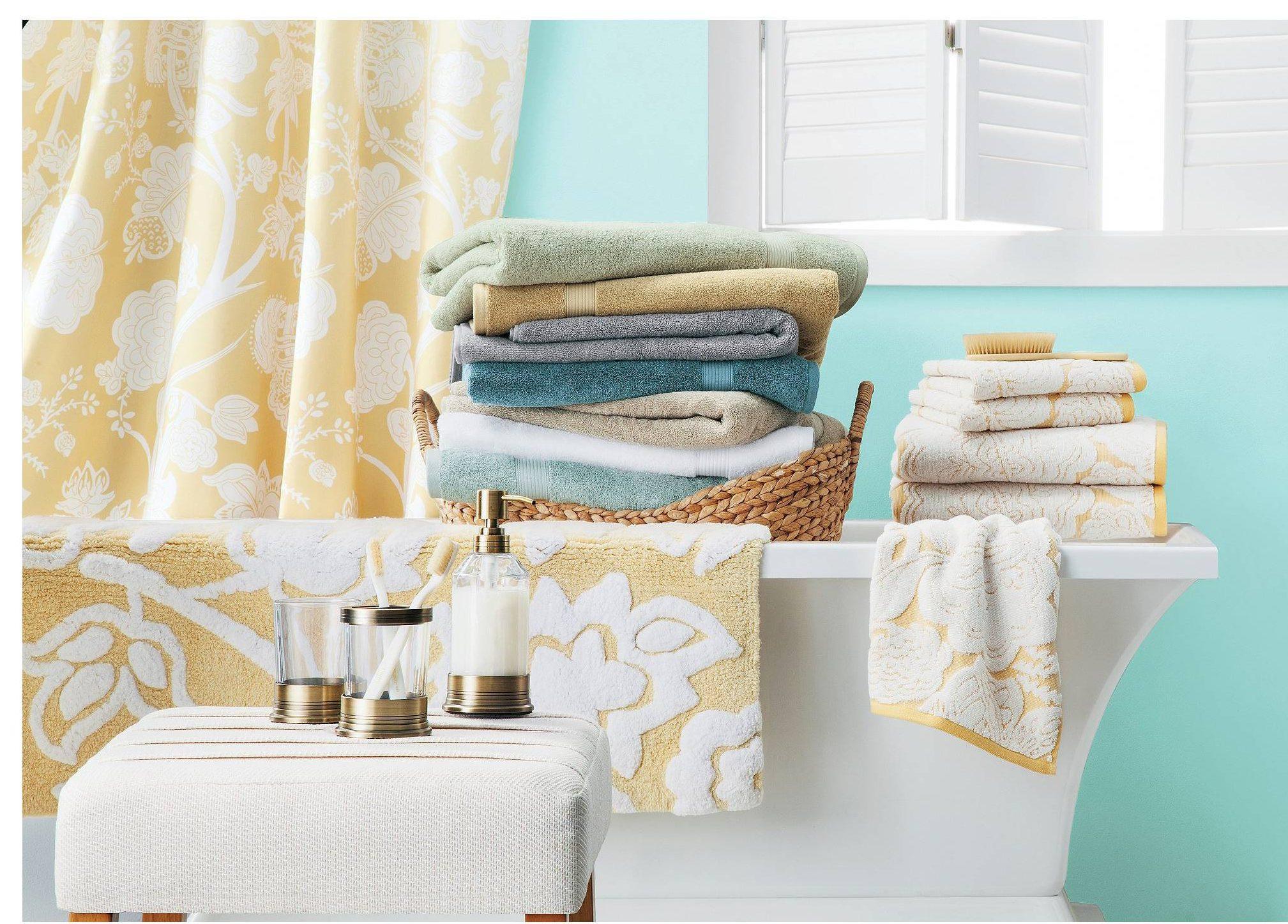 Decorative bath towels target