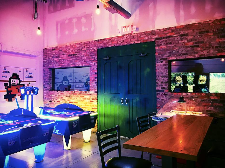 Box Car Arcade Bar