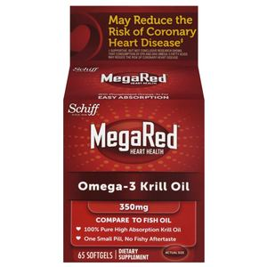 Mega Krill Omega 3 Supplement