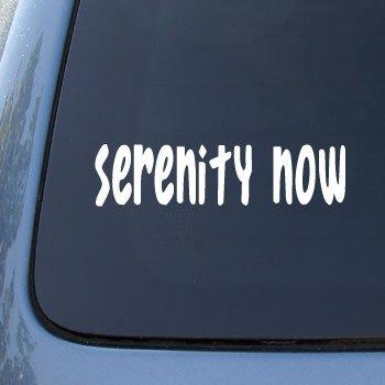Serenity Now Bumper Sticker