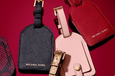 michael kors luggage tag