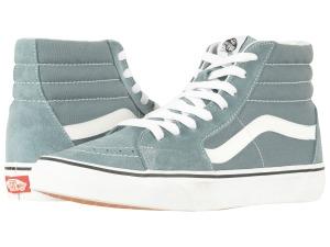 vans sk8 hi blue sneakers