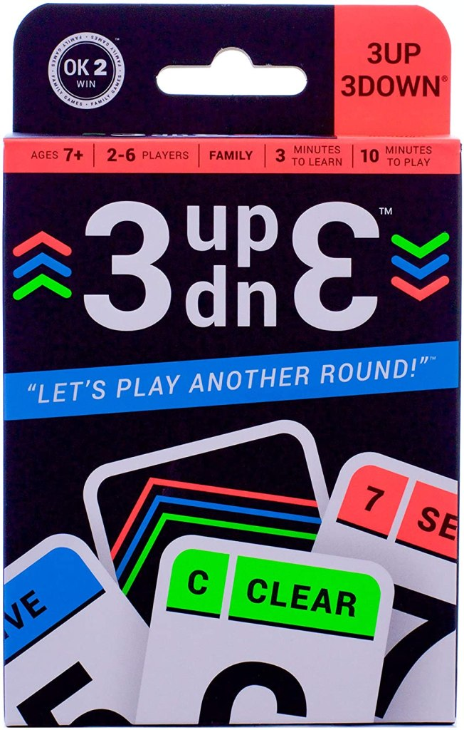 3UP 3DOWN Card Game