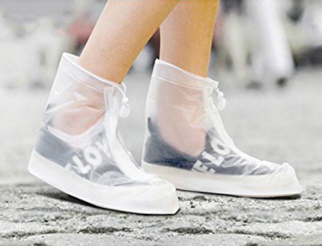 Protect Your Shoes With This Raincoat