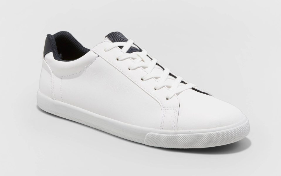 target mens goodfellow white sneakers