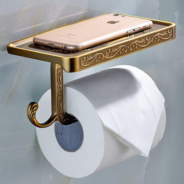 Antique Bronze Toilet Paper Holder