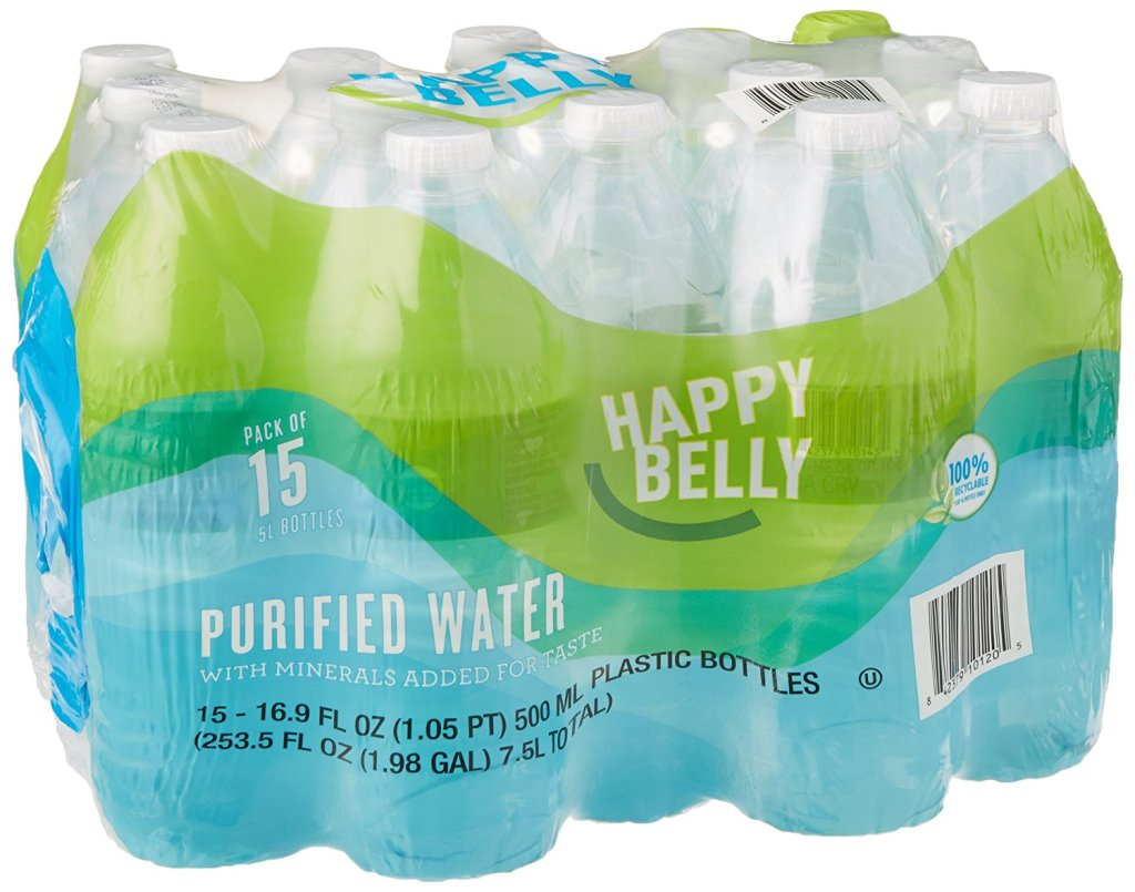 happy belly purified water