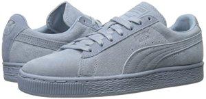puma light blue sneakers