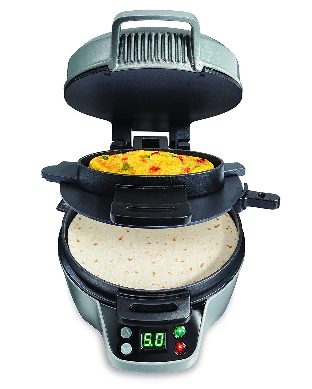 Hamilton breakfast burrito maker
