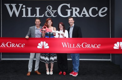 'Will & Grace' TV show photocall, Los Angeles, USA - 02 Aug 2017