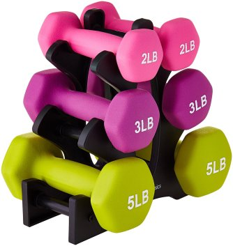 Dumbbell Set Amazonbasics