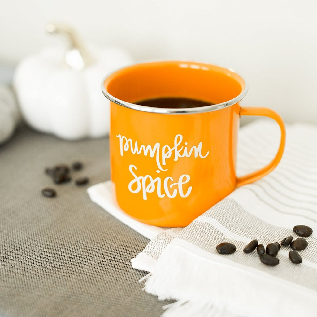 pumpkin spice mug