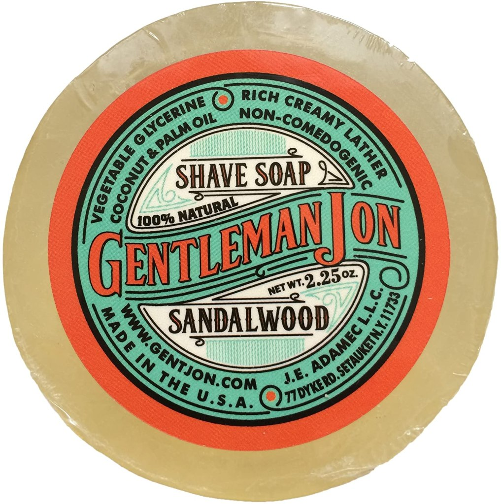 Gentleman Jon Sandalwood Shave Soap