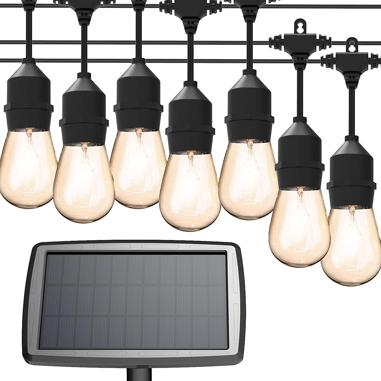 MagicPro Solar String Lights with solar panel, best solar lights