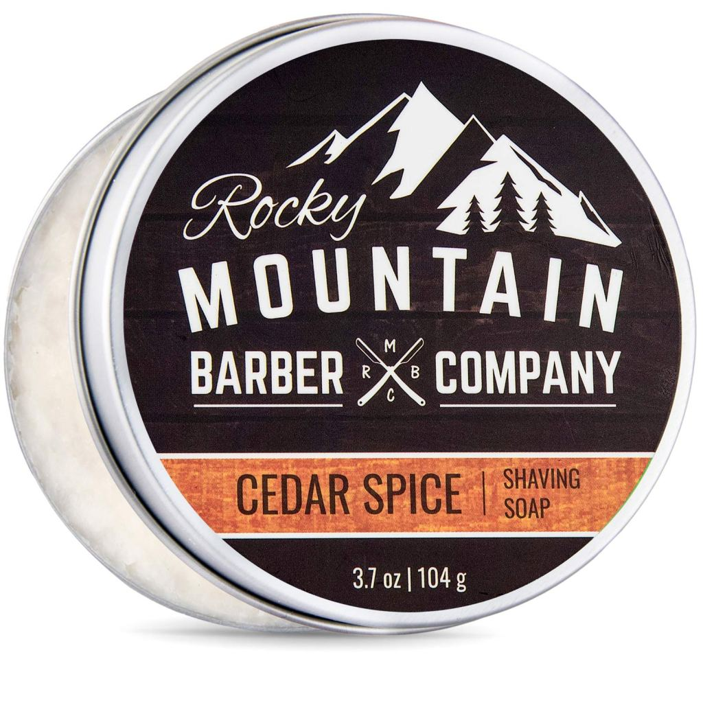 Rocky Mountain Barber Company Store Cedar Spice Shave Soap