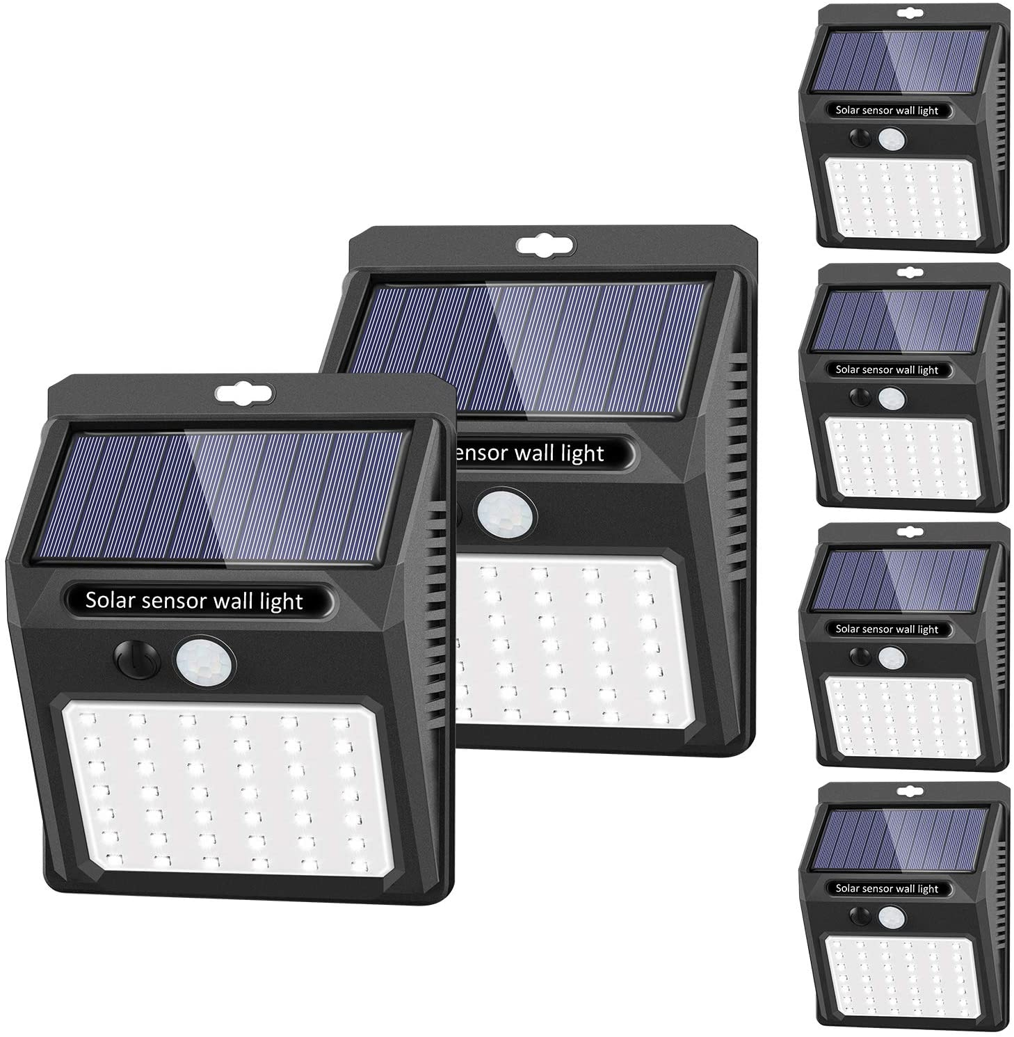 Sezac wall-mountable solar light, best solar lights