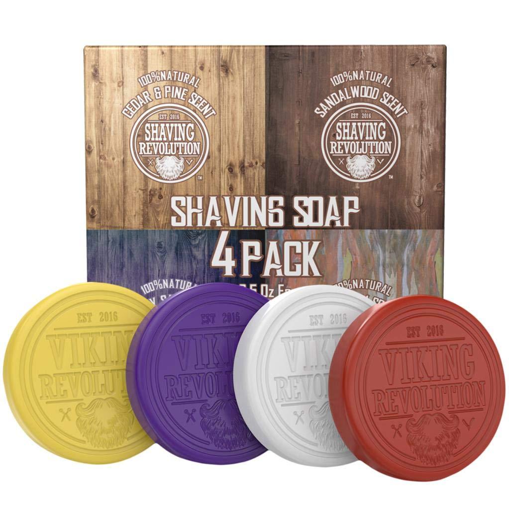 Viking Revolution Store Shaving Soap for Men