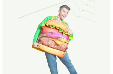 adultburgercostume
