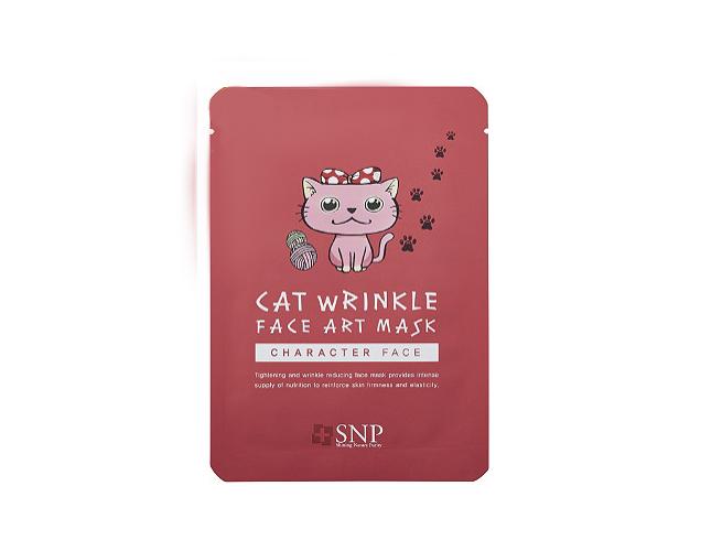 Cat Wrinkle Face Art Mask