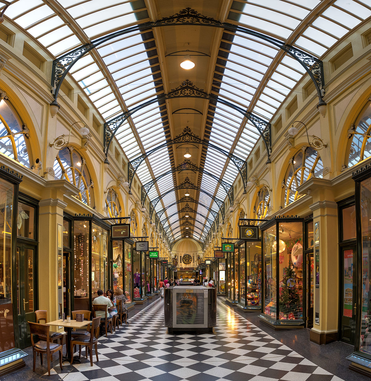 things to do in Melbourne Australia best attractions block arcade shopping