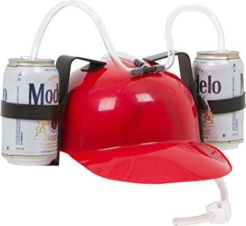Beer Helmet by EZ Drinker