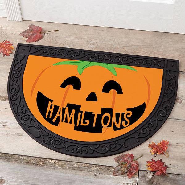 Halloween decorations 13 ways to personalize decor door mat