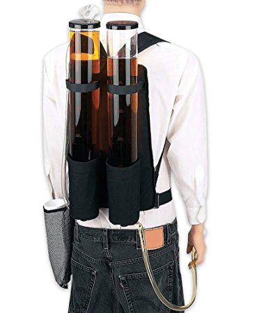 Dual Tank Double Beverage Dispenser Backpack by Wyndham House