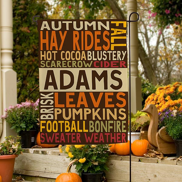 Halloween decorations 13 ways to personalize decor fall flag banner