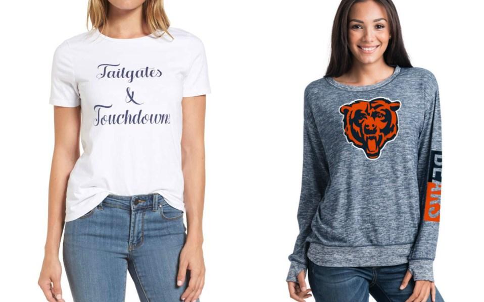 best football apparel women