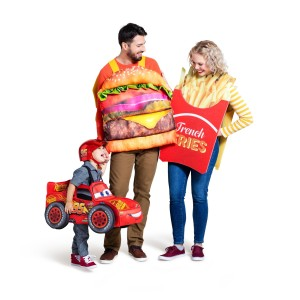 french fry adult costume