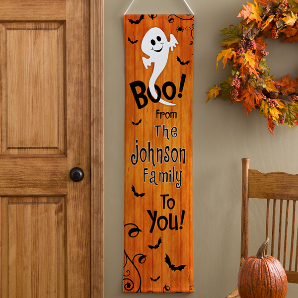 Halloween decorations 13 ways to personalize decor ghost banner indoor