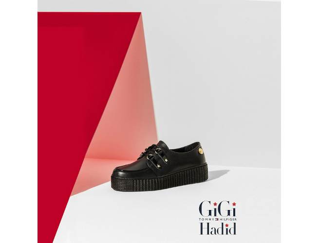 Gigi Hadid and Tommy Creepers