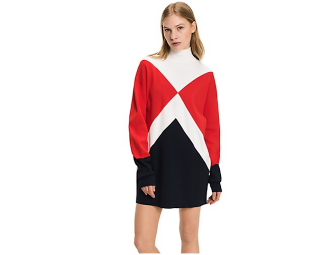 Gigi Hadid x Tommy Graphic Sweater
