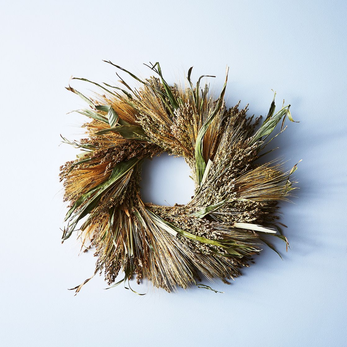 fall wreaths indoor outdoor autumn decor wheat grasses