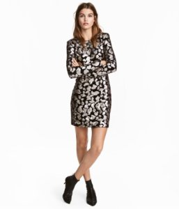 Sequined Dress H&M