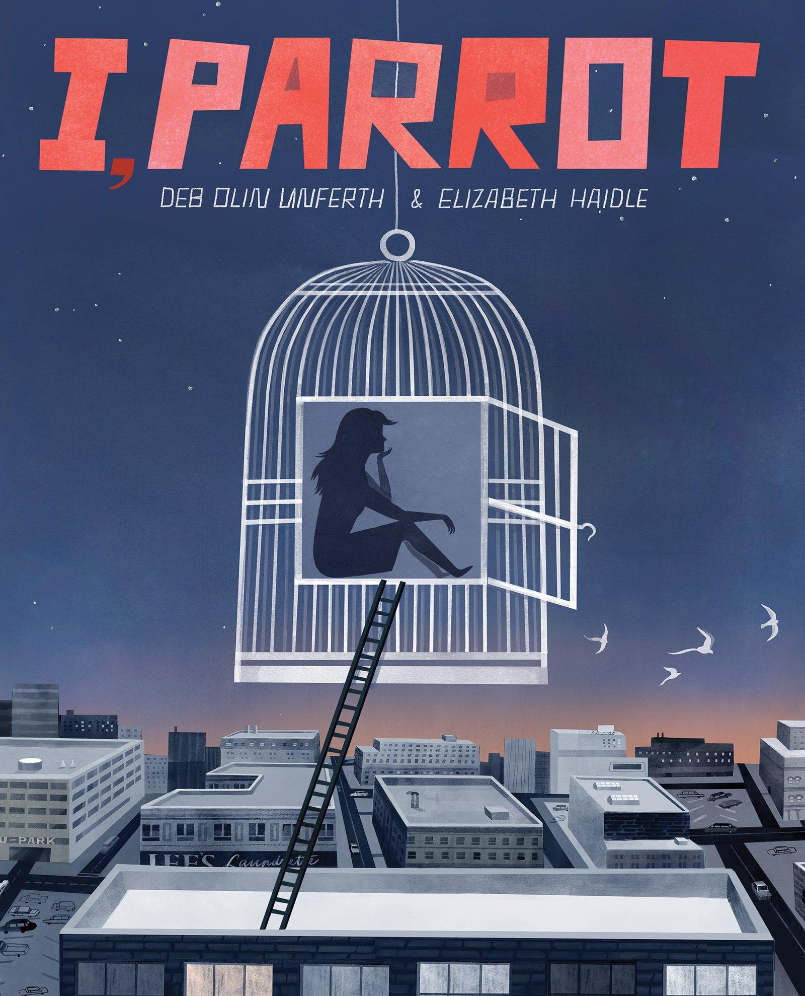 i, parrot graphic novel