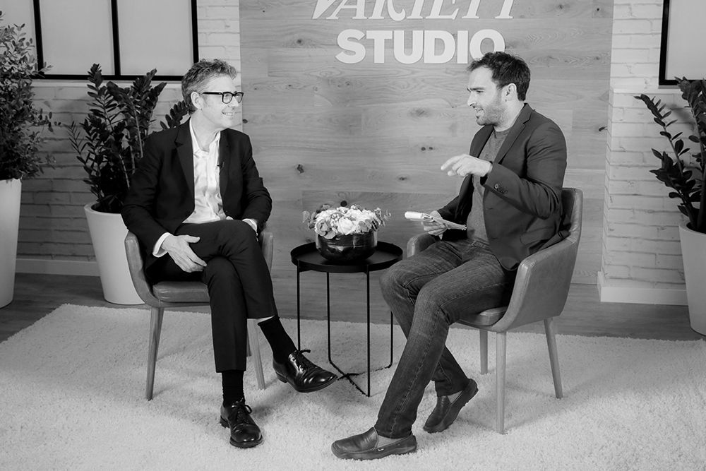Ira Glass (Host/Producer, This American Life) and Ramin Setoodeh