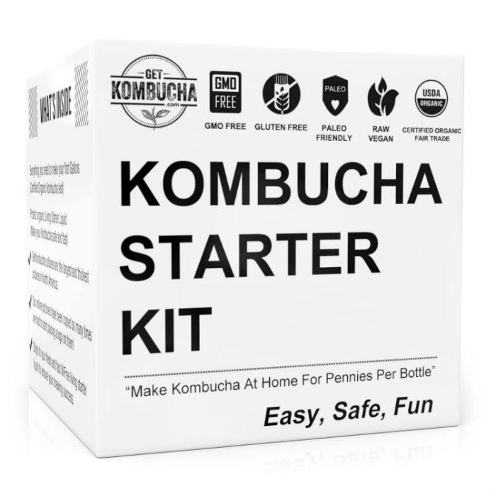 Kombucha Starter Kit Get Kombucha