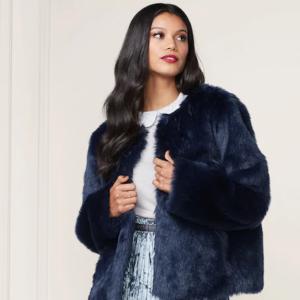 Fur Jacket LC Lauren Conrad