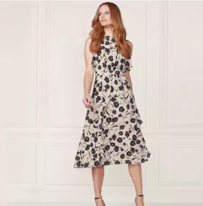 Ruffle Dress LC Lauren Conrad