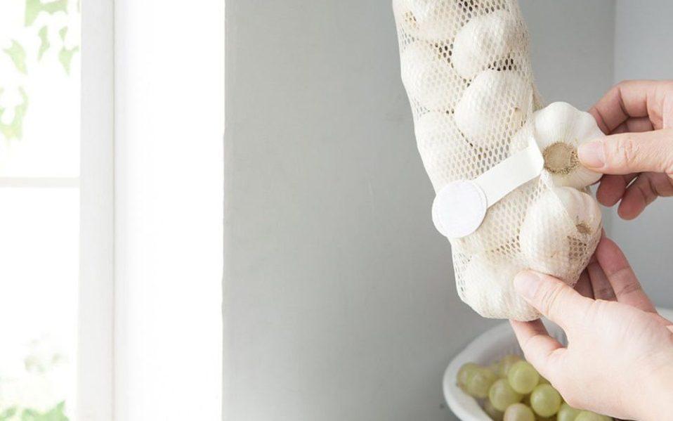 mesh storage bags vegetables