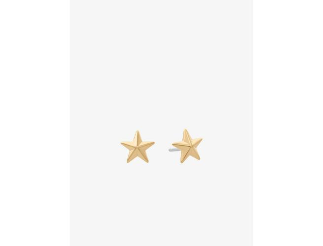 Michael Kors Gold Star Stud Earrings