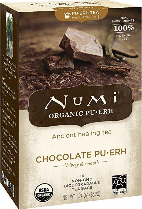 coffee replacement best alternatives numi pu-erh chocolate tea