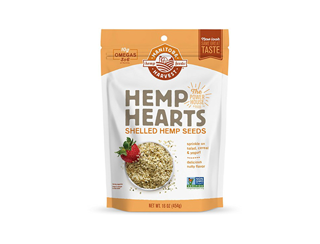 shelled hempseeds