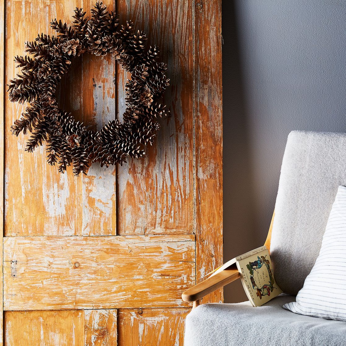 fall wreaths indoor outdoor autumn decor pinecones
