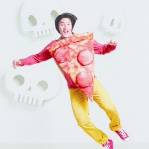 adult pizza costume