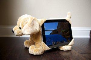 dog tablet holder
