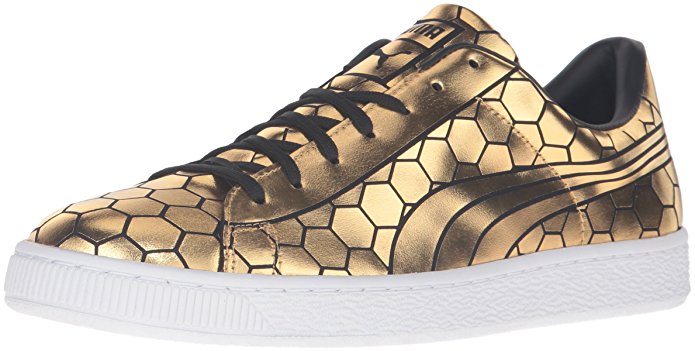 puma gold sneakers