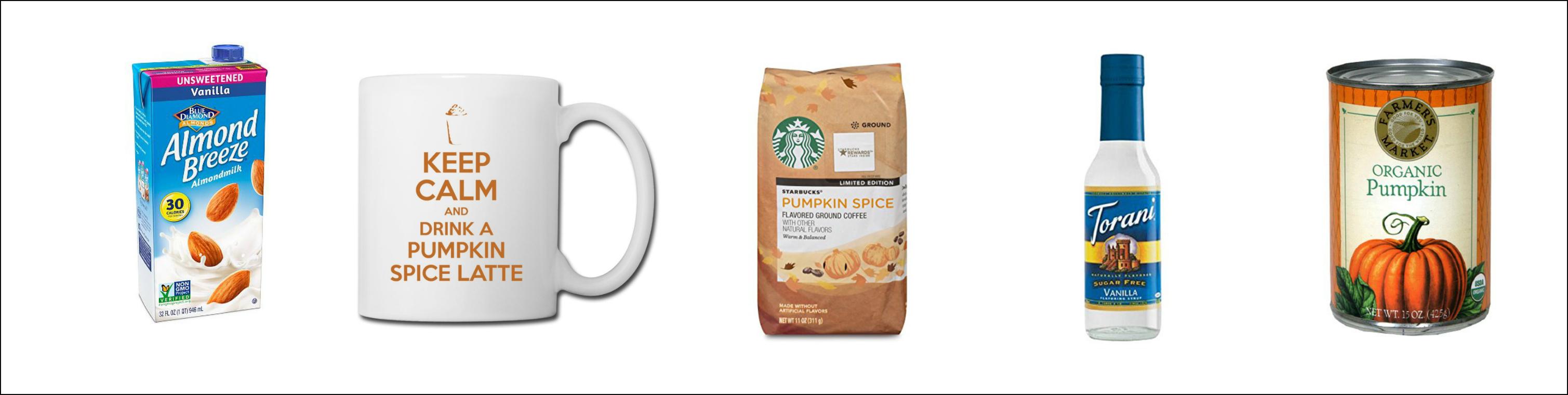 Low Calorie Pumpkin Spice Latte