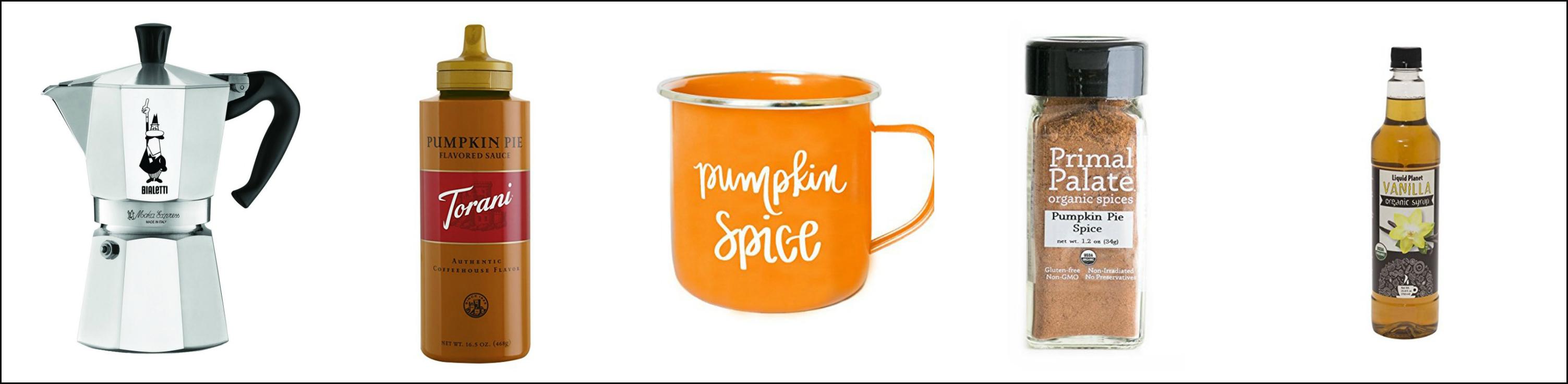Starbucks Pumpkin Spice Latte at Home